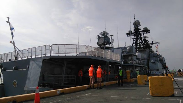 JUST IN! Two Russian Navy Warships Arrive In Manila! What's In Store For Us? SEE PHOTOS HERE!