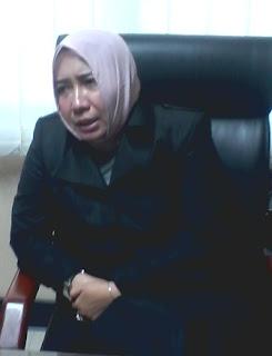 Anggota Komisi C DPRD Jatim Anick Maslahah