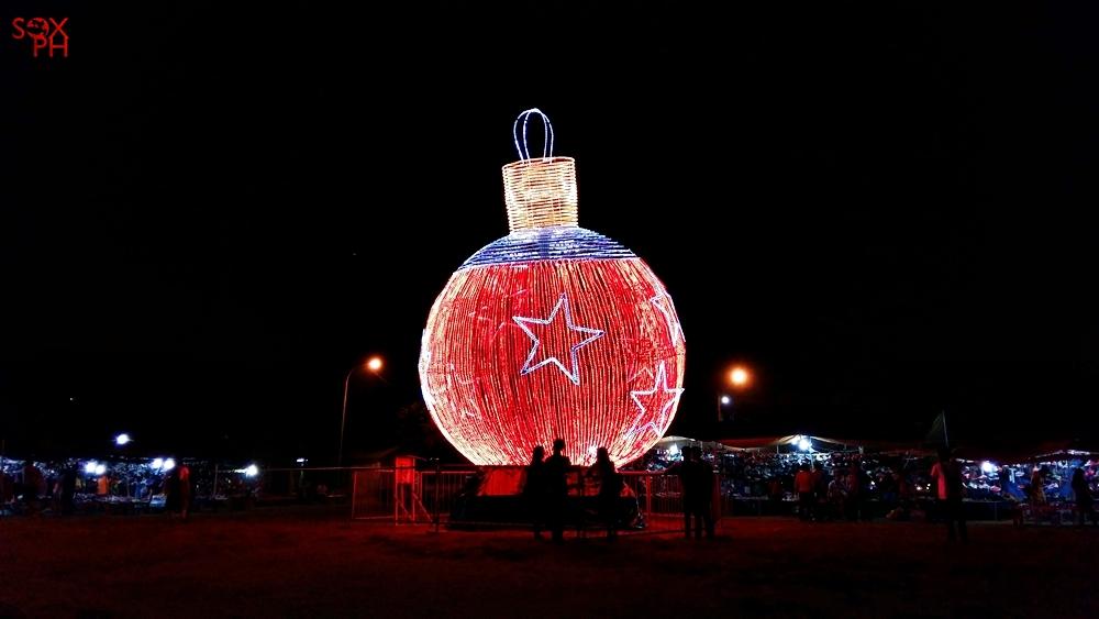 Gensan's Giant Christmas Ball