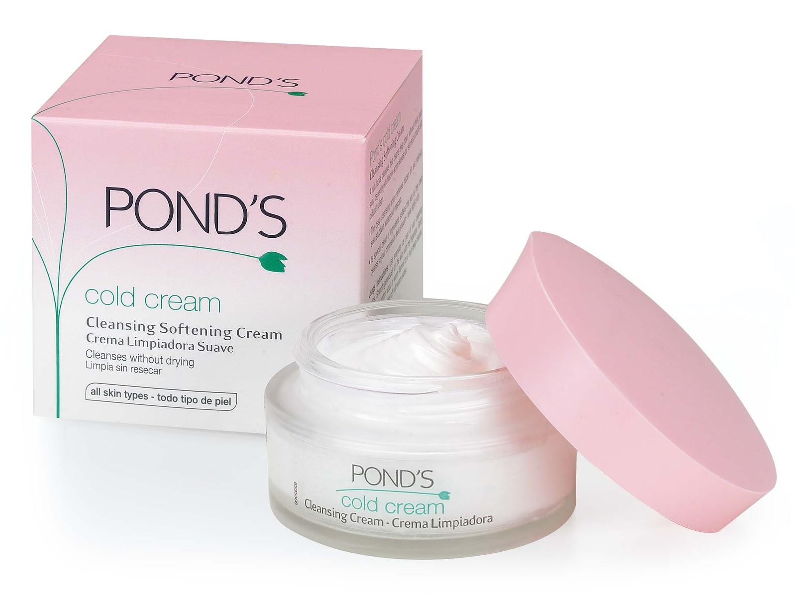 Ponds Cold Cream Cleanser.