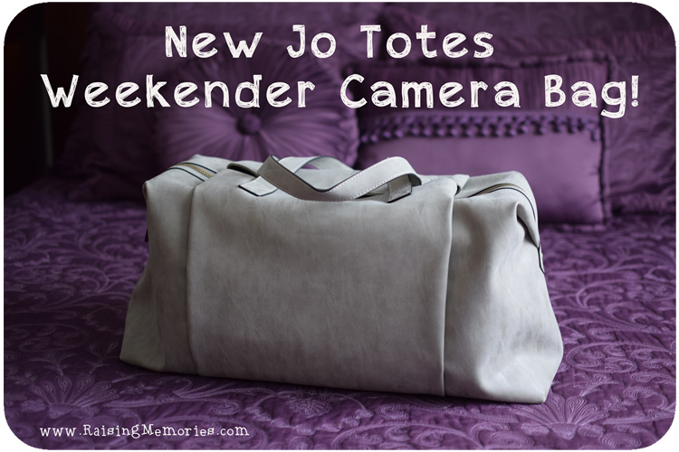 Jo Totes Wyndham Street Weekender Camera Bag Review and Giveaway