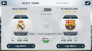 FIFA 14 Mod Best Gameplay by Adipradana for Android