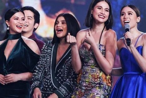 The Queens Of The Big Screen, Angel Locsin, Bea Alonzo, and Anne Curtis All Nailed Their Blue Dress!