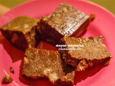 Resep Puding Roti Tawar Coklat
