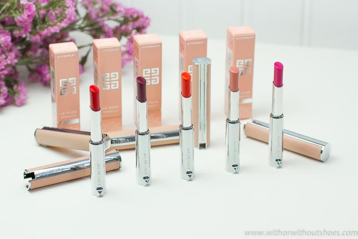 I Believe in Pink la nueva colección de Givenchy Beauty labial balsamo Le Rose Perfecto colores rosas