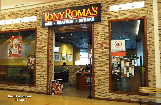 Tony Romas Malaysia Introduces Tony's Sharing Platters