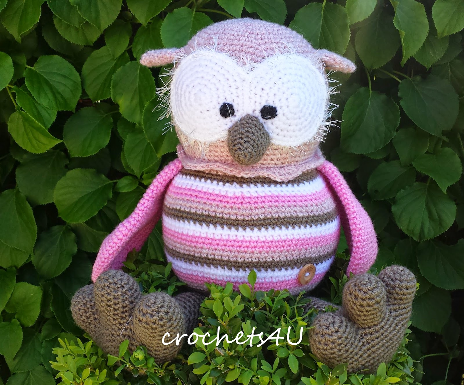 Crochets4u Uil Floortje