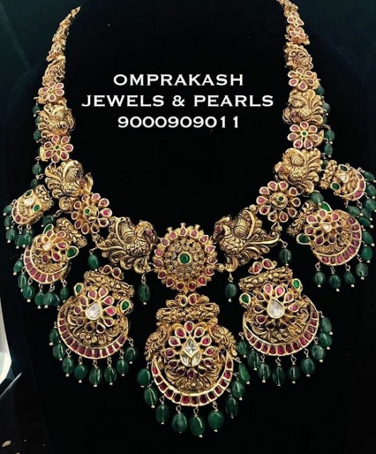 Exclusive Kundan Necklace by Omprakash Jewels