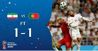 Iran vs Portugal 1-1 Video Gol Highlights