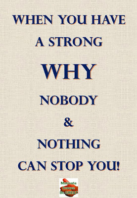 "Motivational Pictures Quotes, Facebook Page, MotivateAmazeBeGREAT, Inspirational Quotes, Motivation, Quotations, Inspiring Pictures, Success, Quotes About Life, Life Hack: ""When you have a strong WHY, Nobody & Nothing CAN STOP YOU."""