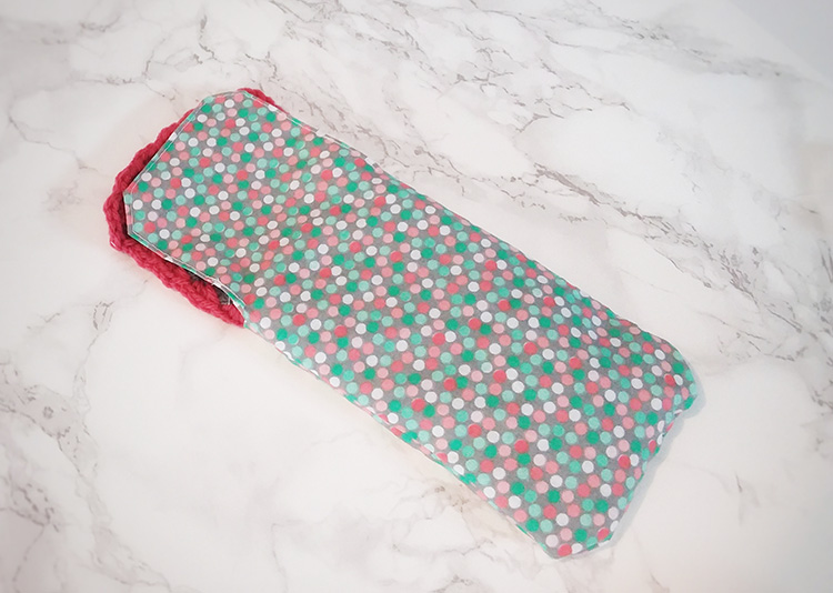 how to make a phone case out of fabric