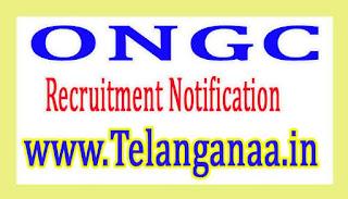 ONGC Recruitment Notification 2017