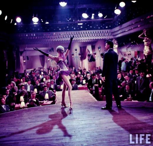 Brigitte Bardot in Mademoiselle Striptease, 1956