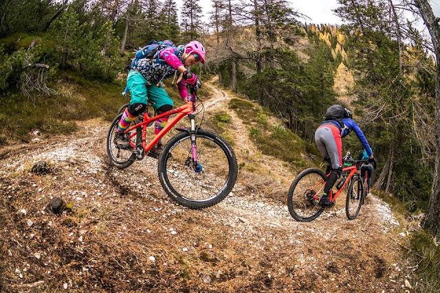 Trail vom Lorenzenberg am Brenner