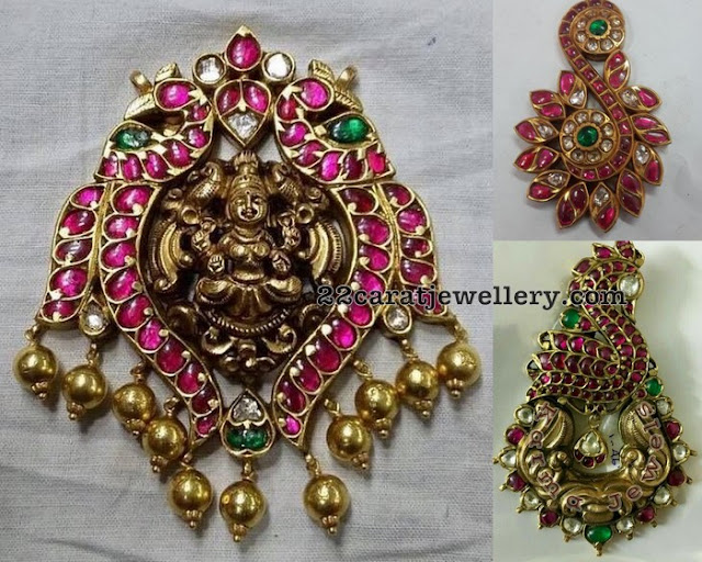 Burmese Rubies Temple Jewellery