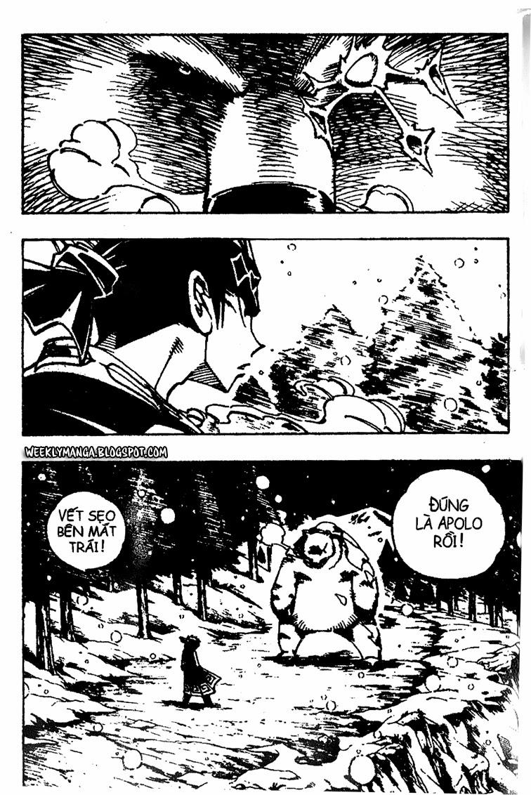 Shaman King [Vua pháp thuật] chap 92 trang 17