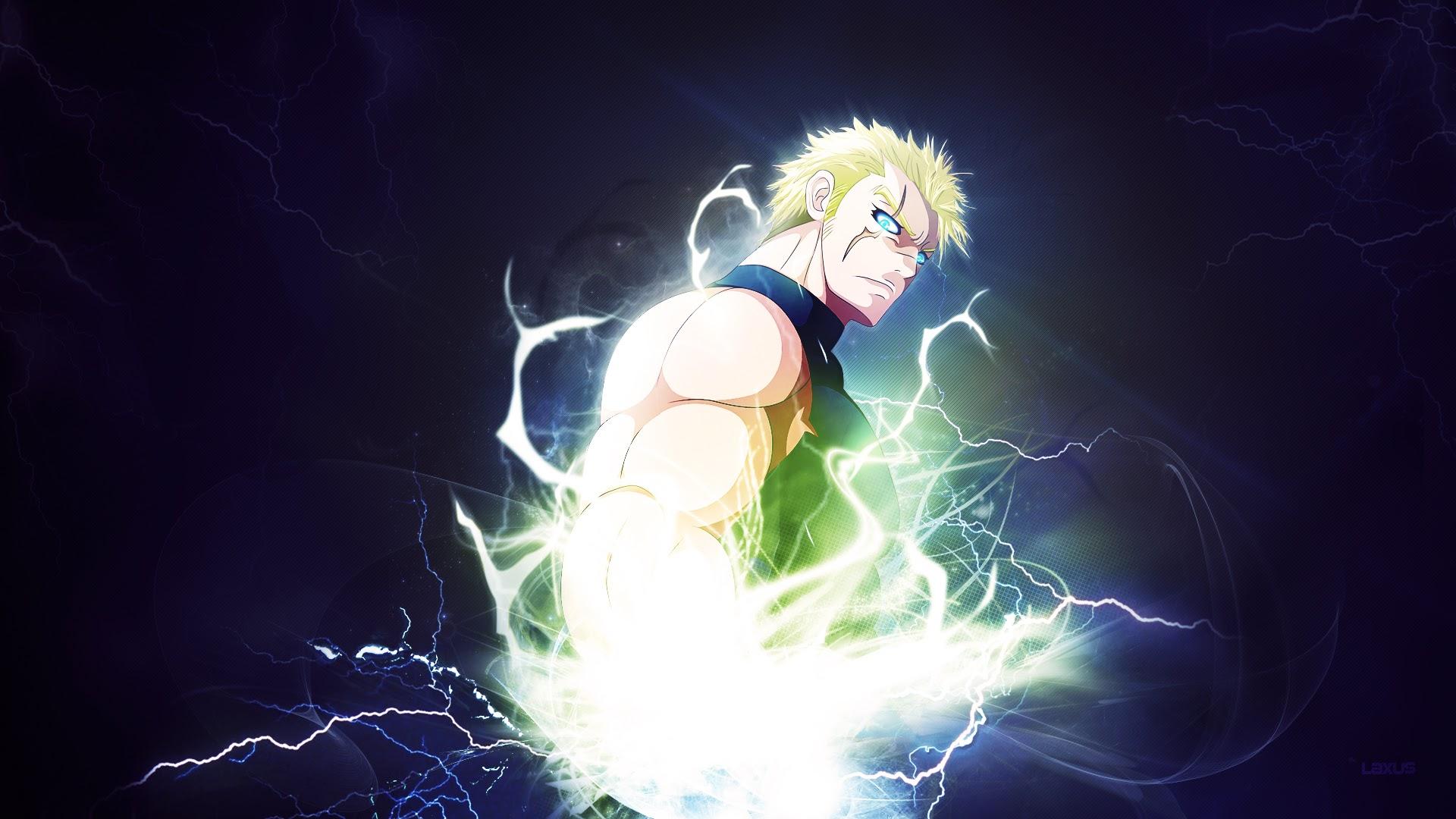 Laxus Dreyar Lightning Anime 81 Wallpaper HD