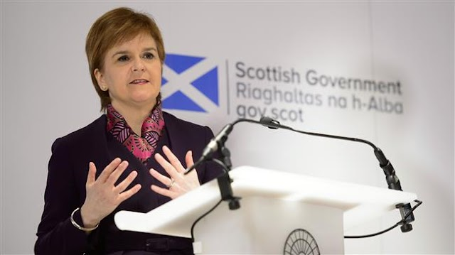 Scotland's First Minister Nicola Sturgeon: Scottish Parliament will refuse to sign European Union exit bill