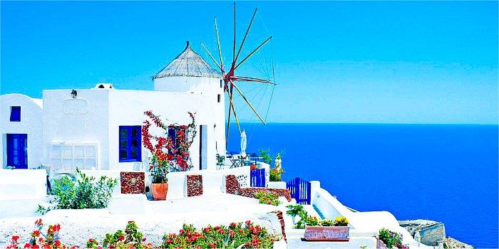 Isola di Santorini, Cicladi, Grecia
