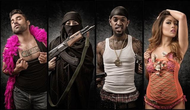"""Proyecto fotográfico: """"Judging America""""  Captura de estereotipos"""