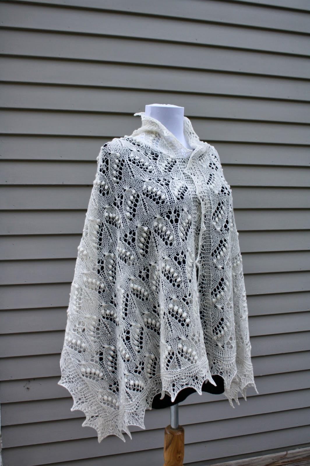 All Knitted Lace Free Estonian Lace Pattern Silvia