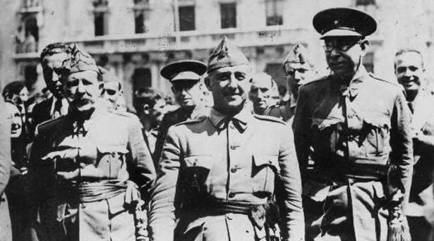 El dinero de los generarles de Franco