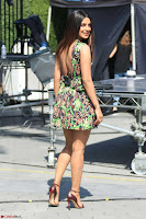 Priyanka Chopra looks super cute in happy mood wearing a short flower print dress in Hollywood 004.jpg