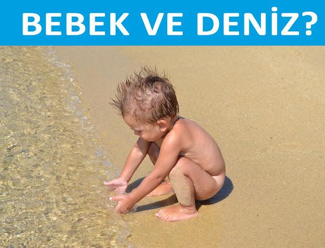 bebekler (çocuklar) ve deniz