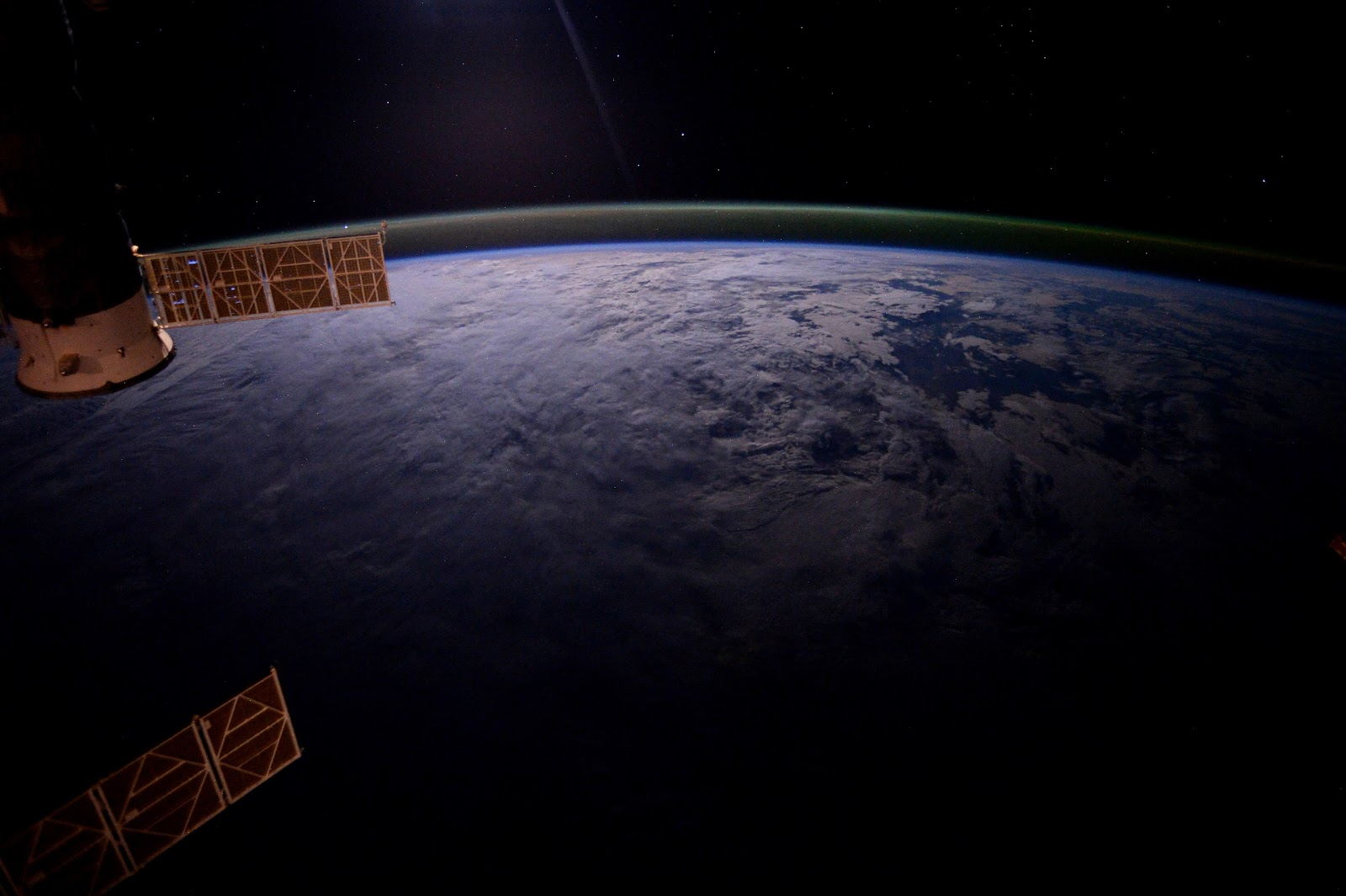 Earth seen from the International Space Station | Earth Blog