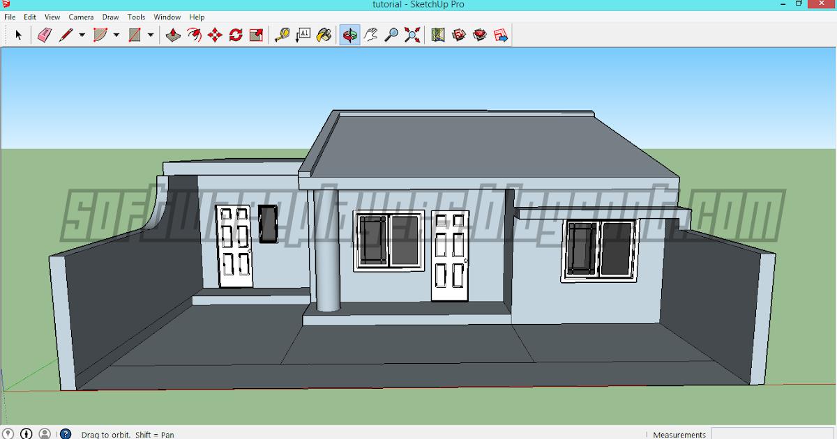 45 Konsep Desain Rumah Minimalis 2 Lantai Sketchup Rumah Minimalis