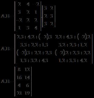 Soal dan pembahasan perkalian matriks.image