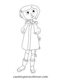 Laminas Para Colorear Coloring Pages Coraline Y La Puerta Secreta