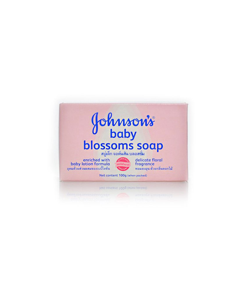Johnson Baby Blossoms Soap 100 g
