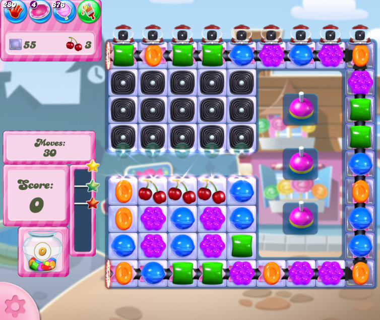 Candy Crush Saga level 2731