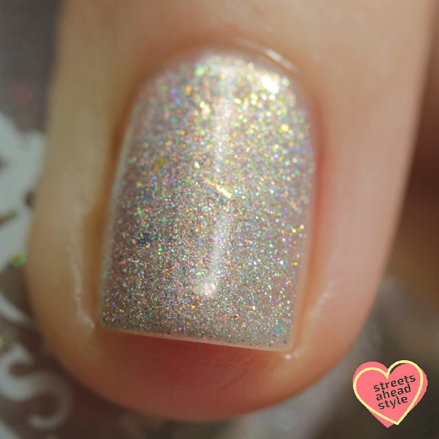 Girly Bits Lunar Ice swatch by Streets Ahead Style