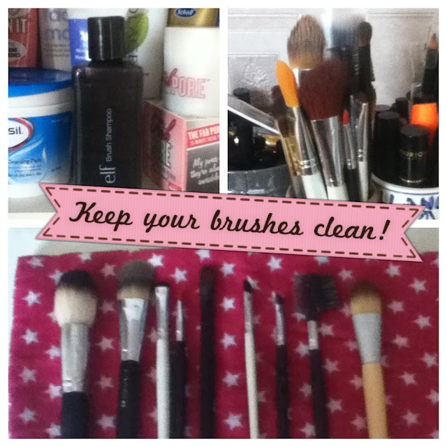A step-by-step guide to cleaning makeup brushes