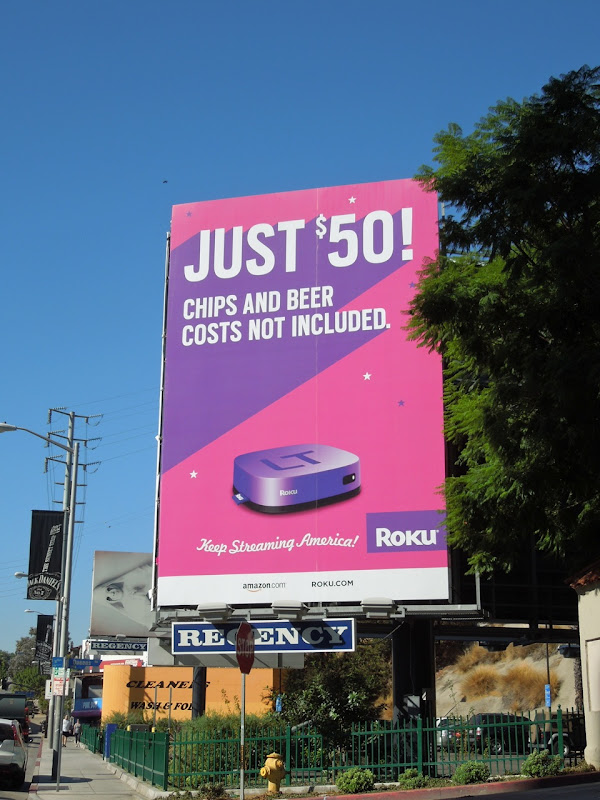Just $50 Roku billboard