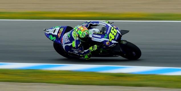 Rossi Rajai Sirkuit Jerez, Lorenzo dan Marquez ke 2 dan 3.