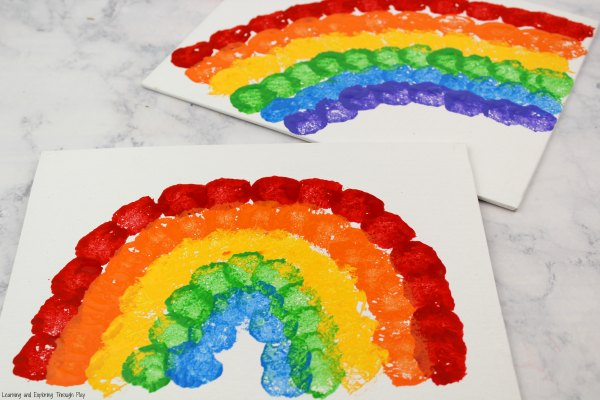 Rainbow Crafts for Preschoolers