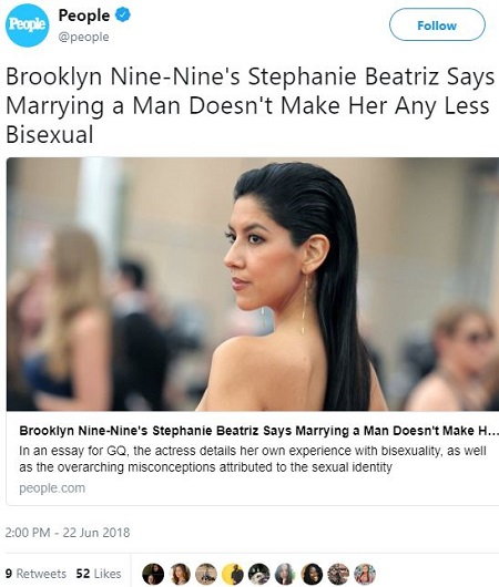 Bisexuality marriage