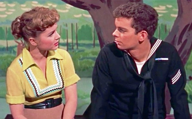 Image result for debbie reynolds and russ tamblyn hit the deck