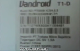 Cara Hard Reset Advan T1D
