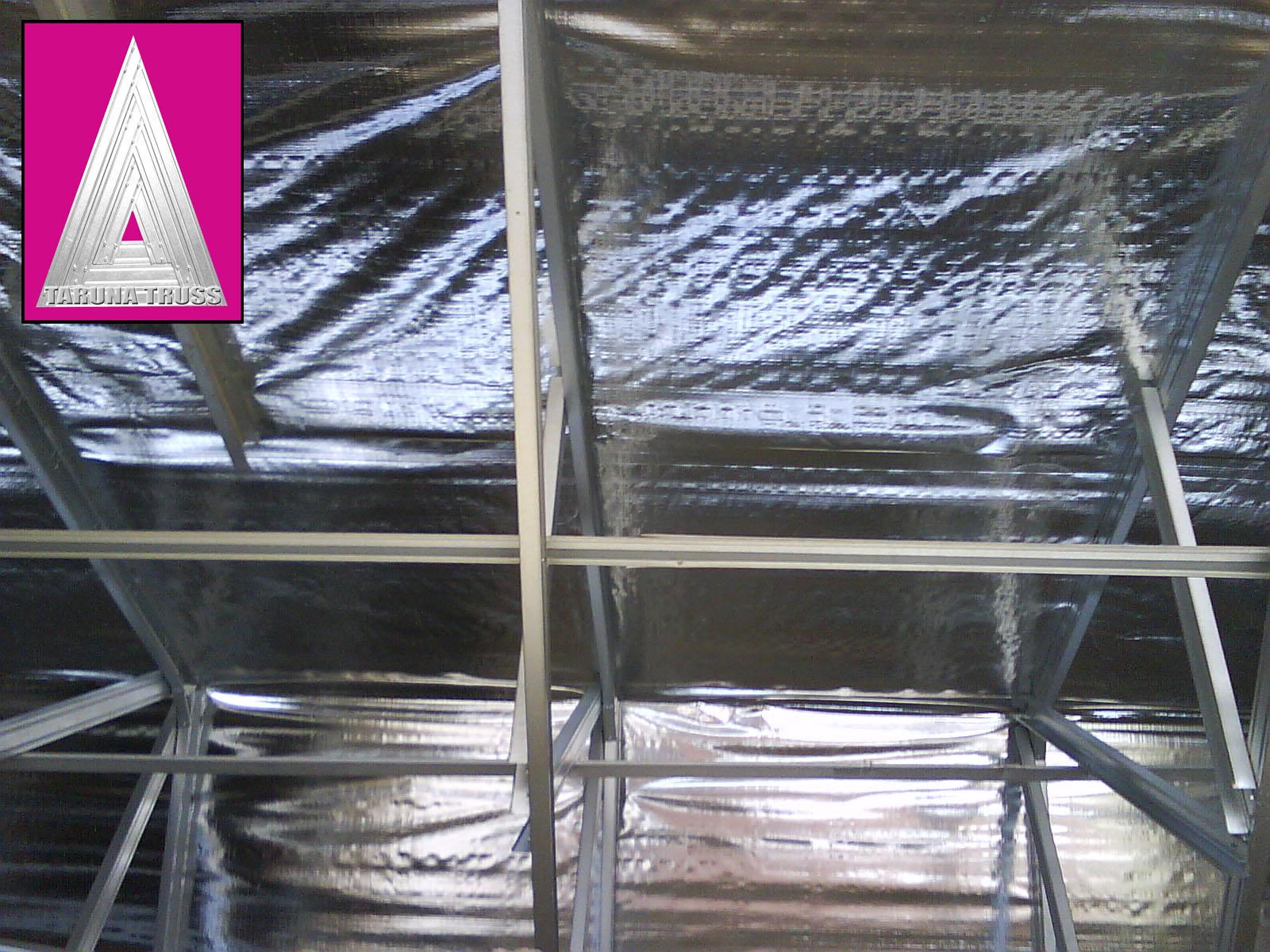 rangka baja ringan di manado atap - taruna truss