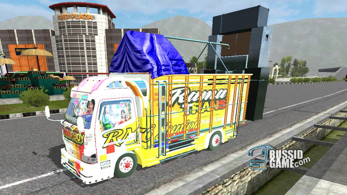 Mod Truck Canter TE Sound System V2 By Ronald - Gudang