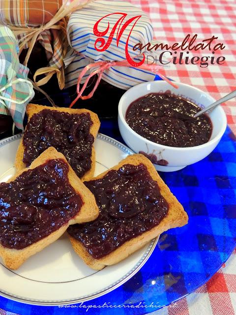 Marmellata di Ciligie - www.lapasticceriadichico.it