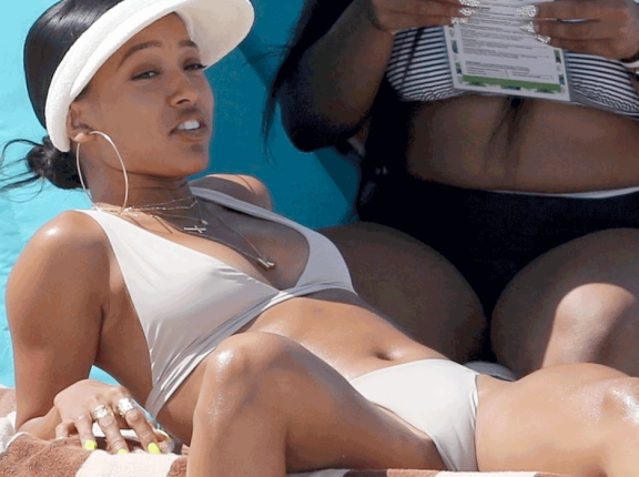 Sexy Karrueche Tran in Bikini{PHOTOS}
