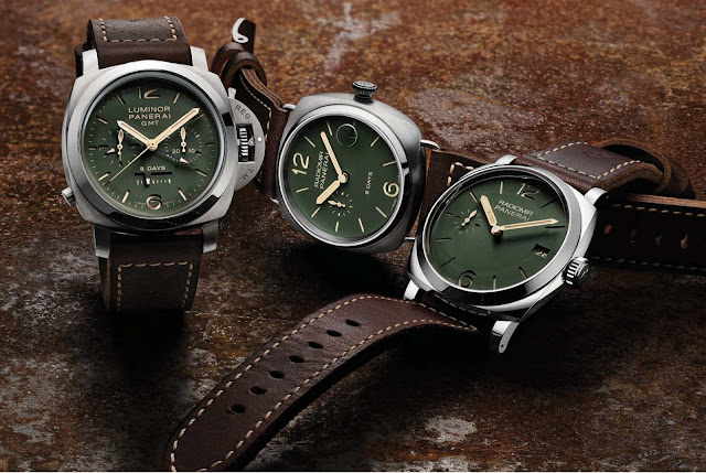 Panerai Green Dial Collection