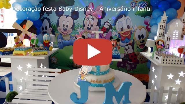 Vídeo Baby Disney provençal simples
