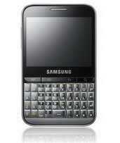 Samsung Galaxy Pro QWERTY Android touchscreen phone with BlackBerry form factor