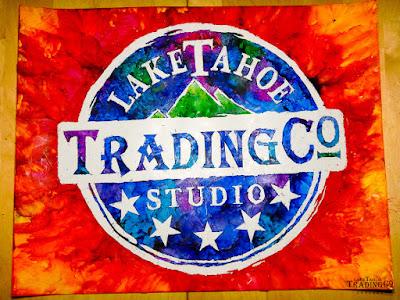 Lake Tahoe Trading Company Badge Logo